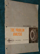 1966 Ford Tire Analysis Shop Manual / Book / Orig Mustang T-bird++