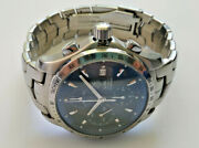 Mens Tag Heuer Stainless Steel Link Chronograph Watch Cjf2114.ba0576