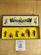 W Britain The Royal Marine Toy Soldiers Collectors Edition 8808 Pre-owned