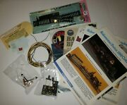 Vintage Ho Scale Lot Model Train Catalog Atlas 860 Street Lamps Decals Switches