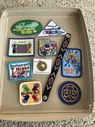 Girl Scout Fun Patches And Pin And Bracelet - Pandemic Activity 10 Pieces - Fun