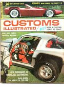 Customs Illustrated Aug 1964 Gallery Of Odd Rods-mustang-barracuda-ford-customs