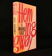 1964 A Moveable Feast Ernest Hemingway First Uk Edition