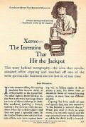 Xerox Invention 1965 Back Story Chester Carlson Xerography Copy Machines