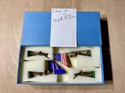 Military Miniatures Model Soldiers By Martin Ritchie Set 146 Blue Corps Flag