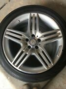 Tires And Rims 19x8.5 Original Mercedes Benz Made In Germany S550 2013 To 2017