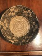 Rare Old Tightly Woven Bowl Shaped Basket - Devilandrsquos Claw Design C1900andrsquos