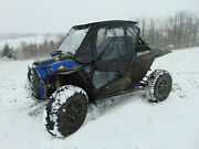 2019+ Polaris Rzr Xp Turbo S Full Cab - Lexan Windshield And Back, Doors And Top