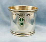 And Co.-1979 Hollywood Oaks Grade I Stakes Race Sterling Silver Julep Cup
