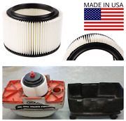 Replacement Shop Vac Filter For Sears Craftsman 3 And 4 Gallon. Wet Dry Vac