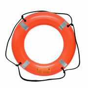 Uscg / Solas Approved Life Ring Ring Buoy 30 Inch With Reflective Tape