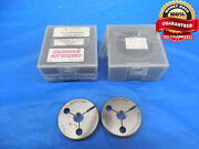 M13 X .5 4h6h Vermont Thread Ring Gages 13.0 0.5 Go No Go Pdand039s = 12.675 And 12.619