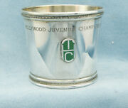 And Co-1977 Hollywood Juvenile Championship Sterling Julep Mint Cup