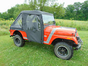 Mahindra Roxor Full Cab Enclosure With A Mr10 Lexan Windshield, Vents And A Wiper