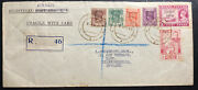 1948 Tavoyzoo Burma First Day Cover To Leek England Independence Stamp Issue