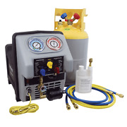 Mastercool 69360-22 Complete Recovery Machine For Refrigerated Trucks Reefer
