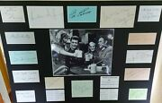 Where Eagles Dare Signed 15 Cast Members Autograph Display Uacc Scarce And Unique