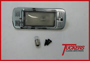 1947-1954 Chevy And Gmc Truck Dome Light Assembly Chrome Base W/ 12v Bulb 3100