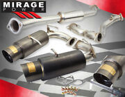 For 2013-2016 Frs Brz Gt86 Zn6 Performance Dual Catback Exhaust System Gunmetal