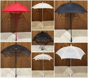 Victorian Styled Parasols Black-white-ivory-red-yellow Lace And Solid Reproduction