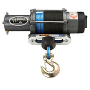 4500lb Viper Elite Wide Spool Winch With Synthetic Rope - Pick From 5 Colors