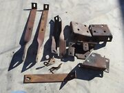 1958 Lincoln Front Bumper Brackets Lot