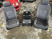 2015-2018 Gmc Sierra 2500 Front Seat Bucket And Bench Seat Cloth Power Black