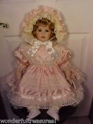 Fab25t Thelma Resch Ornate Victorian Style Doll Toddler Victoria Marie 494/2000