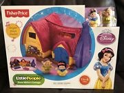 Fisher Price Little People Snow White's Cottage Playset Disney Princess Y3723