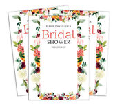 Bridal Shower Invitation Card 28 Pcs Write In Blank Party Supplies-ds-in428a