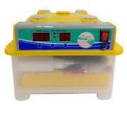Electric 8 Egg Incubator + Candler Hatching Eggs Chicken Quail Duck