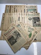 Current Events National School Newspaper Lot Of 63 Volumes 1949 1950 1951