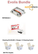 Evolis Bundle Primacy R5f008aaa + 300 Pvc Card + Cleaning Kit Acl001