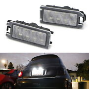 Oe-fit 3w Led License Plate Light Kit For Fiat 500, Maserati Levante, Jeep Grand