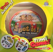 Blue Orange Travel Card Game Spot It On The Road Brand New Great For Road Trips