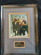 Framed Entire Voyager Crew Each With Hand Signed Autographs - Rare Htf Coa