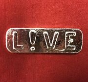 3oz Yeager's Poured Silver - 999+ Fine Silver Bullion Bar - Live