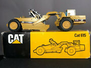 Vintage Caterpillar Nzg 615c Tractor Scraper Made In West Germany 1/50 With Box