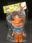 1960and039s Hillbily Doll - 4 New In Package - Made In Japan - Rare