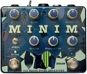 Old Blood Noise Endeavors Minim Reverb And Delay Effects Pedal