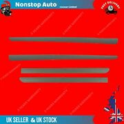 4x Front And Rear Door Moulding Panel Trim Strap Paintable Fits Peugeot 307 8545w5