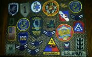 Patch Lot Military Police American Flag Las Vegas Marine Corps Army Explorer
