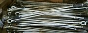 Quantity 4 Allied Bolt 53 Long Expanding Rock Earth Anchor Pole Line Hardware
