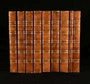 1769-96 10 Vol In 9 Works Of William Robertson History Illustrated Folding Maps