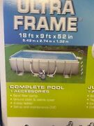 Intex Ultra 2 Pools 18and039 X 9and039x 52 28351eg Andnbspbundle1 Brand New In Box And 1used 1s