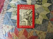 1964 St Louis Cardinals Media Guide Yearbook Football Nfl Program Press Book Ad