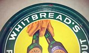 C1920-1930s Whitbread Pale Ale Extra Stout 5 Color Porcelain Beer Tray- 2nd One