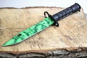 New Wartech M9 Bayonet Hunting Tactical Survival Bowi Fixed Blade 12.5