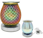 Electric 3d Touch Lamp Oil Burner Scented Aroma Wax Light Home Deco Lp44350
