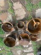 Cast Iron Pots For Melting Lead Or Aluminum For Sinkers -shot